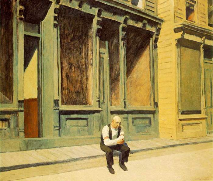 Sunday - Edward Hopper