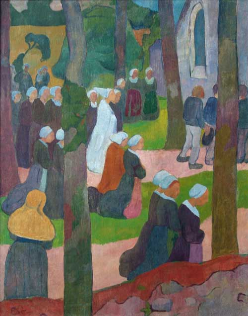 Sunday in Breton - Paul Serusier
