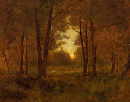 Sundown near Montclair - George Inness