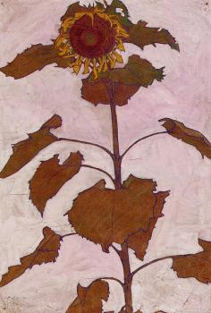 Sunflower - Egon Schiele