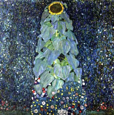 Sunflower - Gustav Klimt