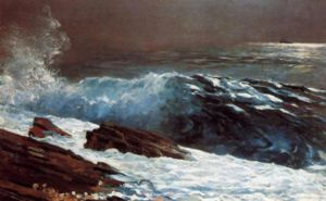 Sunlight on the Coast - Winslow Homer