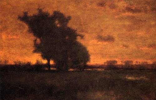 Sunset at Milton - George Inness