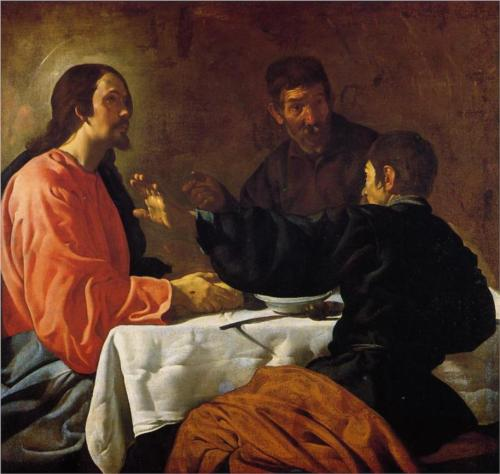 Supper at Emmaus - Diego Velazquez