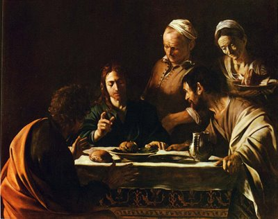 Supper at Emmaus II - Michelangelo Merisi da Caravaggio