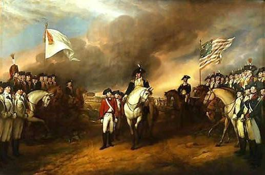 Surrender of Lord Cornwallis - John Trumbull