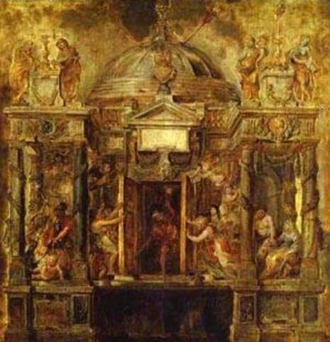 Temple of Janus - Peter Paul Rubens