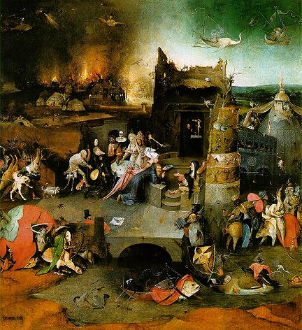 Temptation of St. Anthony - Hieronymus Bosch