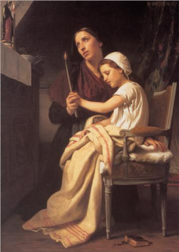 Thank Offering - William Adolphe Bouguereau