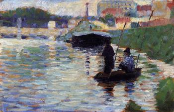 The Bridge (View of the Seine)- Georges Seurat