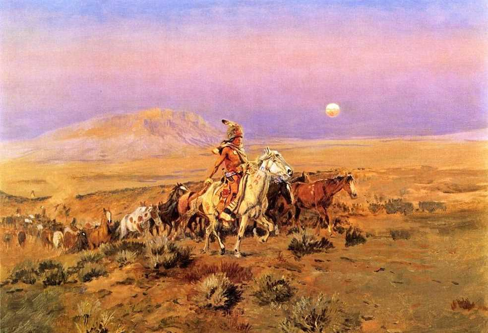 The Horse Thieves - Charles M Russell