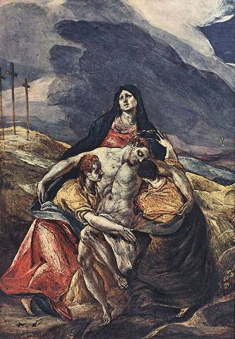 The Pieta (Lamentation of Christ) - El Greco