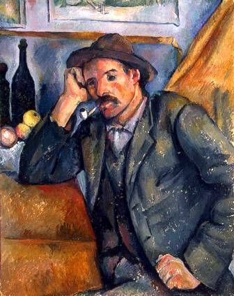 The Pipe Smoker - Paul Cezanne