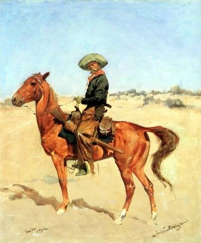 The Puncher - Frederic Remington