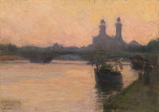 The Seine - Henry Ossawa Tanner