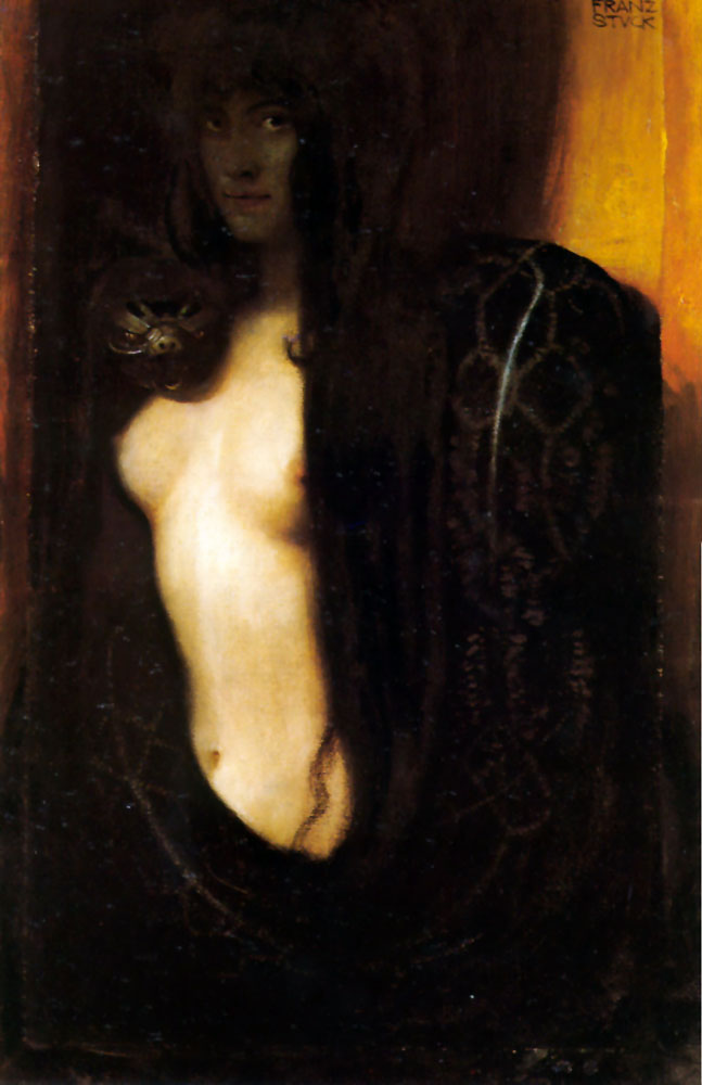 The Sin - Franz Von Stuck