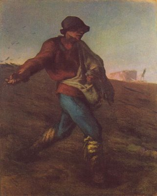 The Sower - Jean Francois Millet