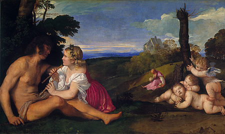 Three Ages of Man - Tiziano Titian Vecellio