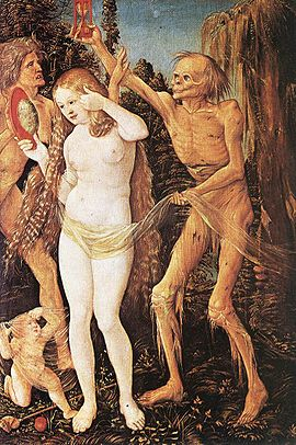 Three Ages of Woman and Death - Hans Baldung Grien