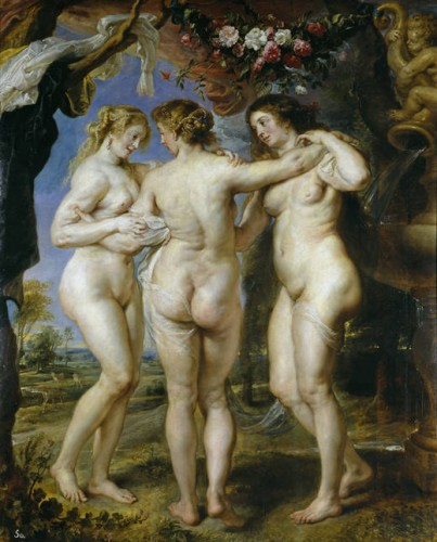 Three Graces - Peter Paul Rubens