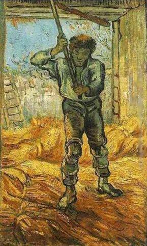 Thresher - Vincent van Gogh