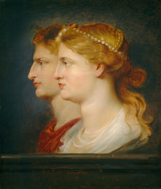 Tiberius and Agrippina - Peter Paul Rubens