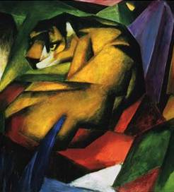 The Tiger - Franz Marc