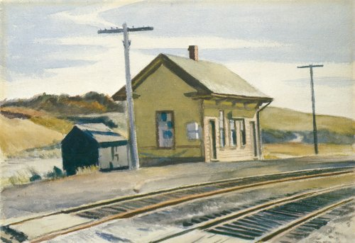 Toward Boston - Edward Hopper