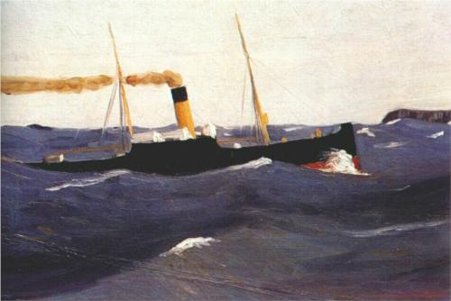 Tramp Steamer - Edward Hopper