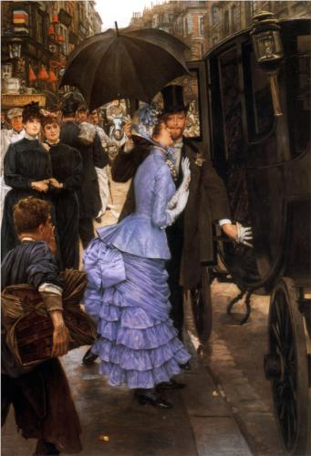 Traveler (Bridesmaid) - James Tissot