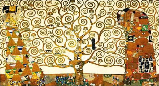 Tree of Life Stoclet Frieze - Gustav Klimt