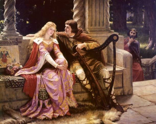 Tristan and Isolde - Frederick Leighton