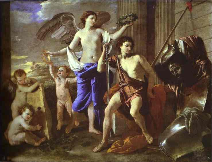 Triumph of David - Nicolas Poussin