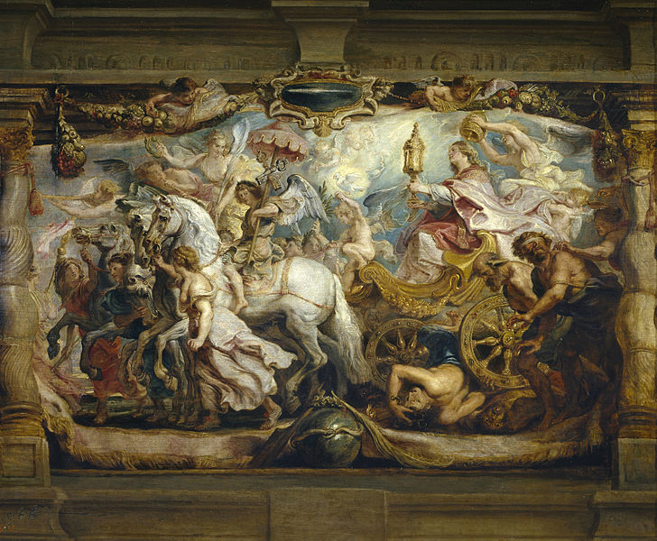 Triumph of the Church - Peter Paul Rubens