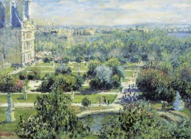 Tuileries Gardens - Claude Monet
