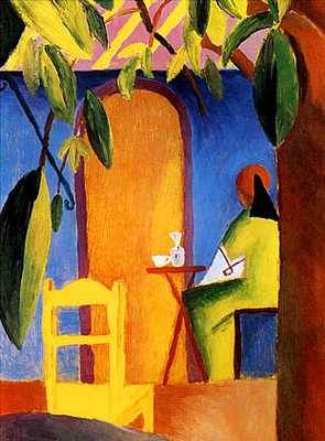 Turkish Cafe II - August Macke