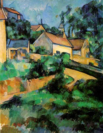Turning Road at Montgeroult - Paul Cezanne