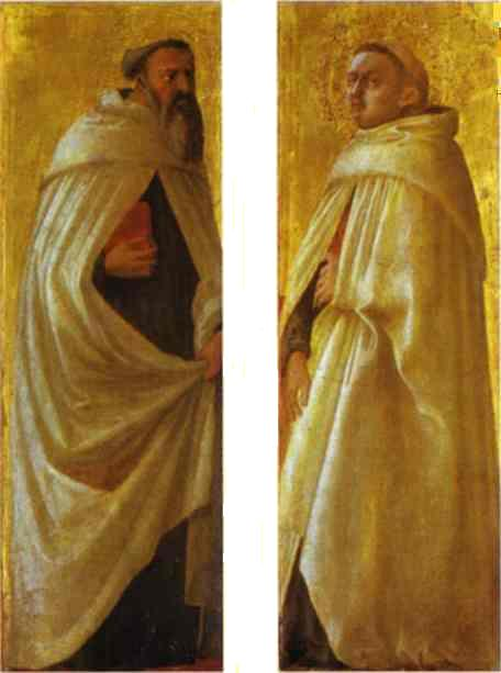 Two Carmelite Saints - Masaccio