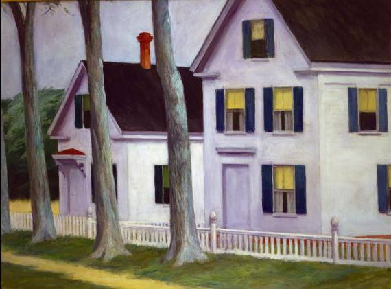Two Puritans - Edward Hopper