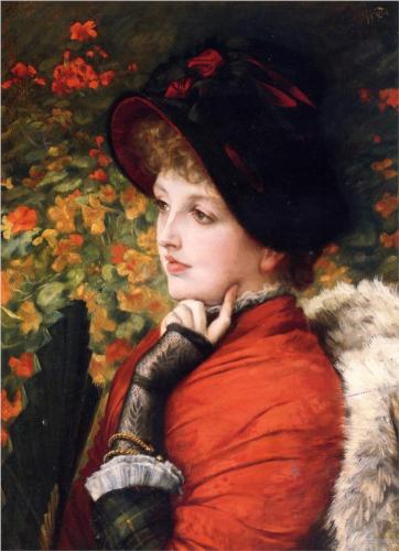 Type of Beauty (Kathleen Newton) - James Tissot
