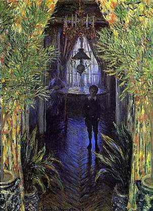 Un Coin D' Appartement - Claude Monet