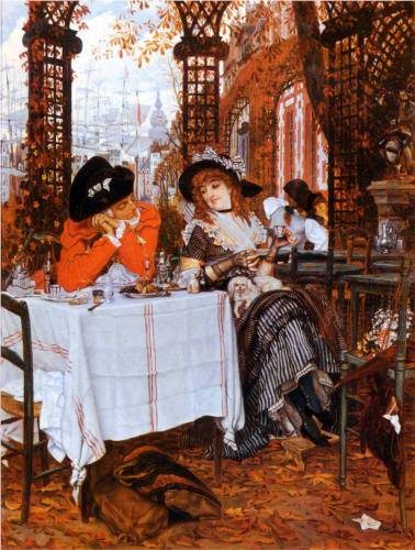 James Tissot - Un Dejeuner (Midday Meal)