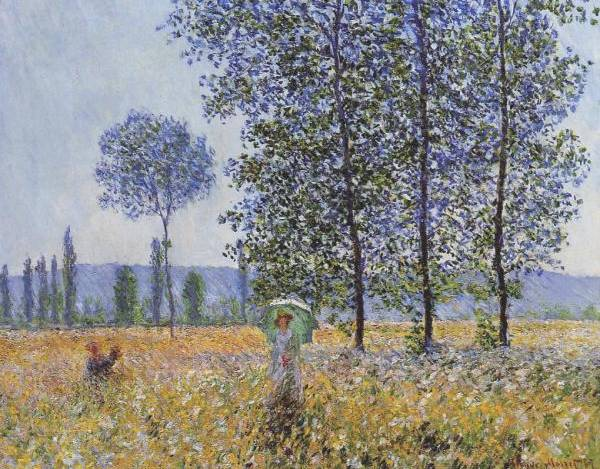 Under the Poplars - Claude Monet