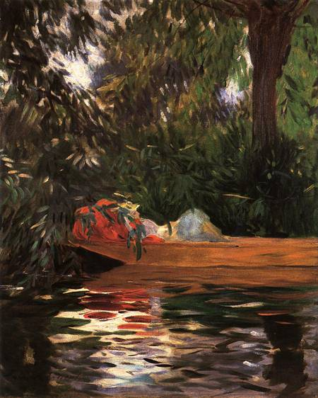 Under the Willows - John Singer Sargent
