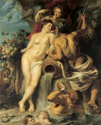 Union of Earth and Water - Peter Paul Rubens