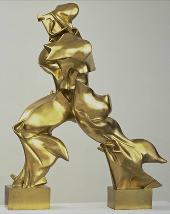 Unique Forms of Continuity in Space - Umberto Boccioni