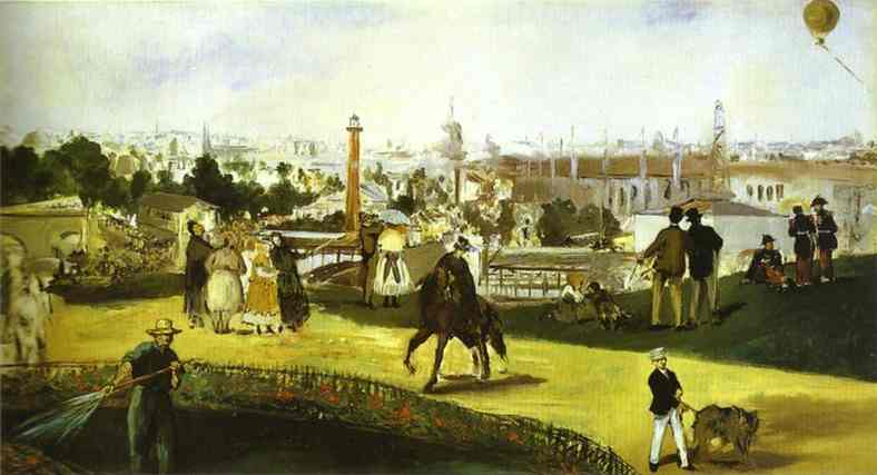 Universal Exhibition - Edouard Manet