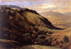 Valley in the Auvergne - Theodore Rousseau
