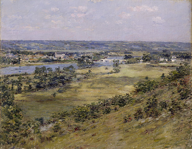 Valley of the Seine from Giverny Heights - Theodore Robinson