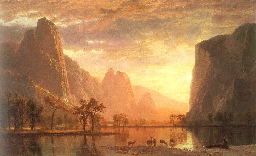 Valley of the Yosemite - Albert Bierstadt